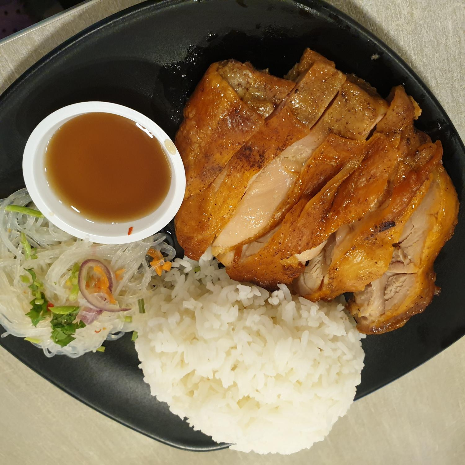 Grilled Thai Chicken with Rice