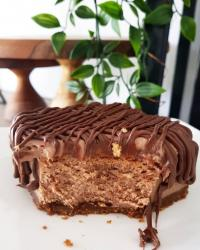 Double Chocolate Nutella Cheesecake