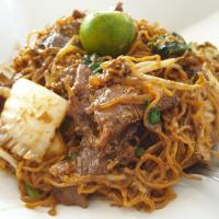 Fried Hong Kong Noodle (Beef)