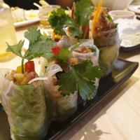 Summer Rolls with Softshell Crab