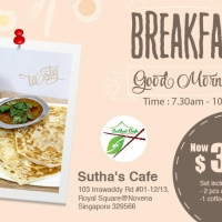 Breakfast Deal  - Prata and Teh