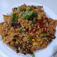 Kimchi Fried Rice with Bulgogi