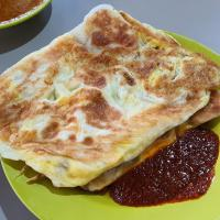 Double Egg Prata