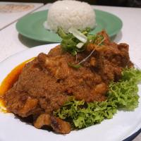 Chicken Rendang Rice