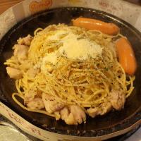 Chicken & Cheese Chicken Sausage Aglio Olio