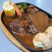 Bullet Pepper Steak
