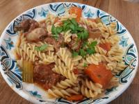 Slow-cook Short Rib Stew Fusilli