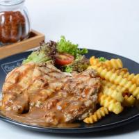Char Grilled Chicken Chop
