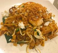Premium Crab Meat & Salted Egg Fried Kway Teow